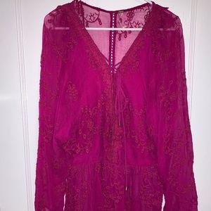 Free People flowy boho tunic